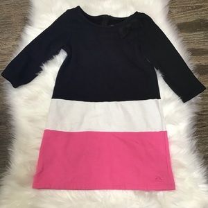 Gymboree multicolored dress with bow.
